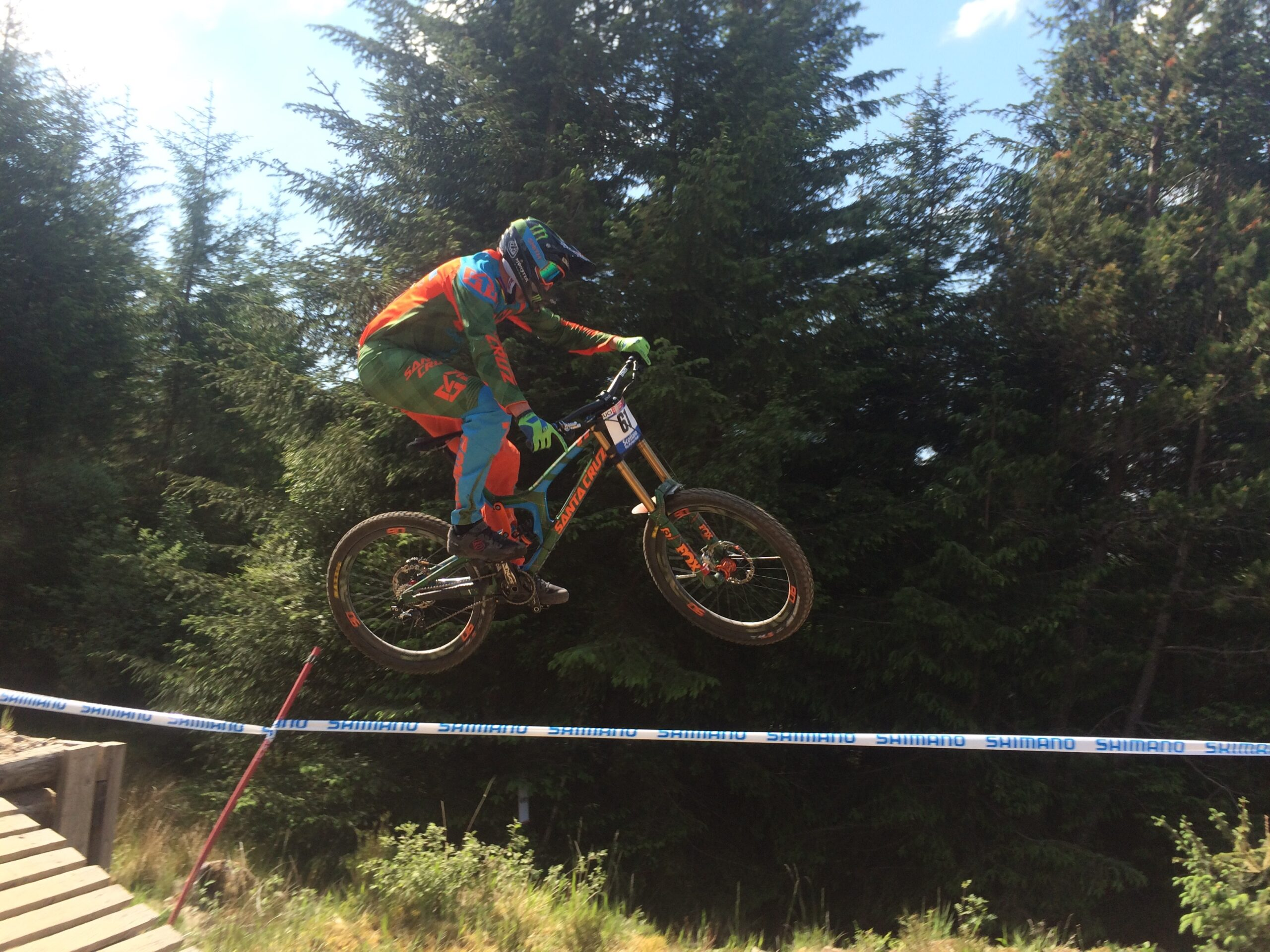 Mountain biking World Cup at Fort William