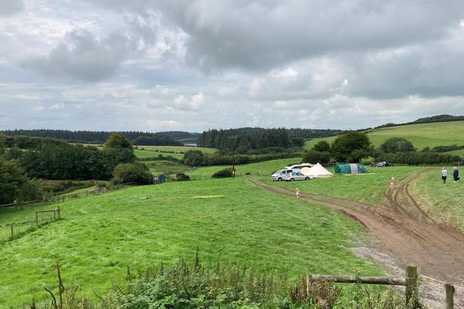 Camping at Westland Farm