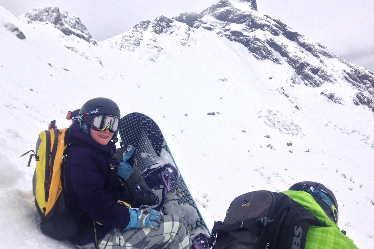 Off-piste in the Dolomites