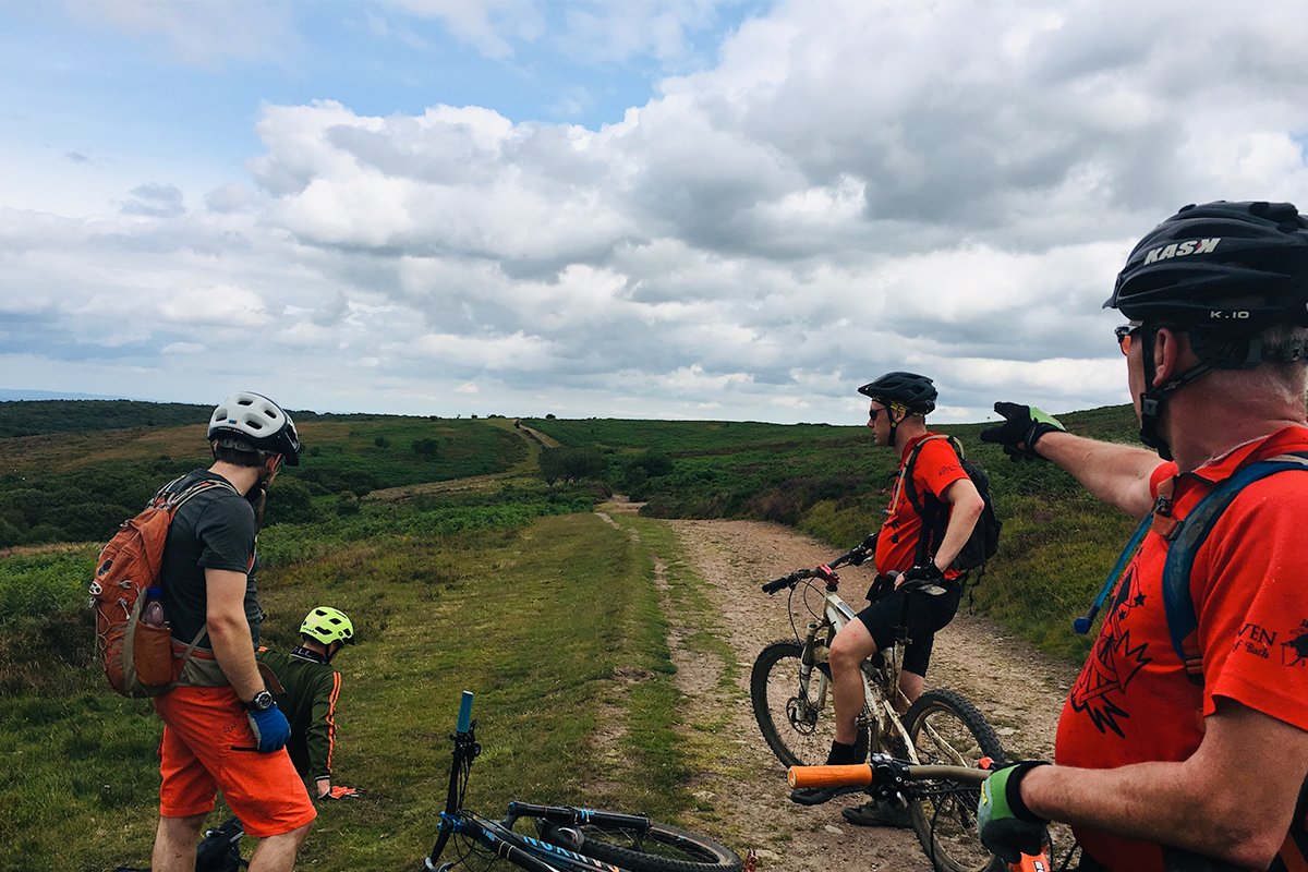 Mountain biking in the Quantocks