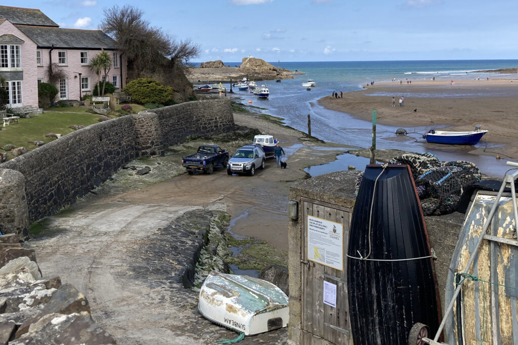 Harbour at Bude