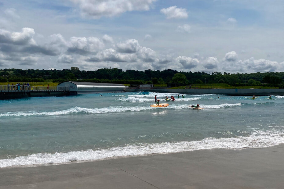 The Wave inland surfing lagoon